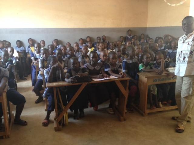 Ecole primaire dans l'enceinte de l'Eglise fraternelle luthérienne du Cameroun, Garoua (DR)