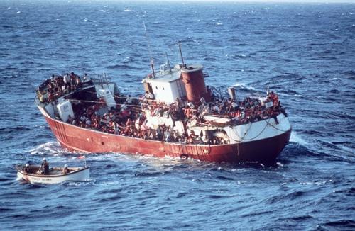 Photo migrants, source Flickr