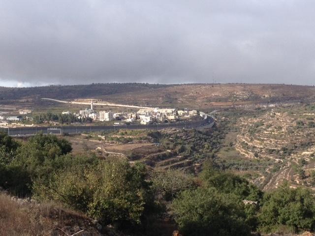 Le Mur de séparation dans la région de Bethléem DR