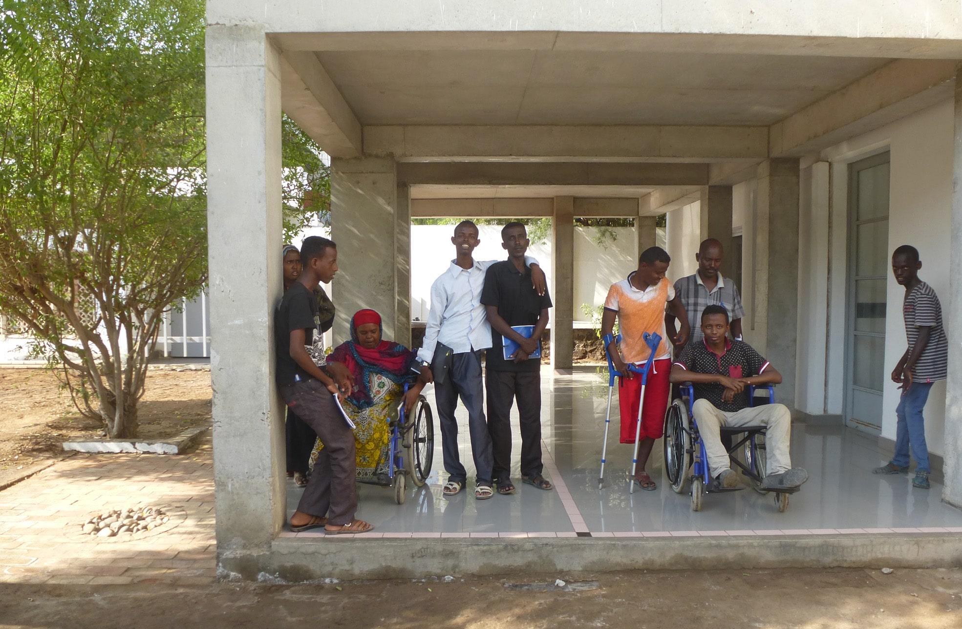 Groupe de jeunes handicapés, EPED, DR