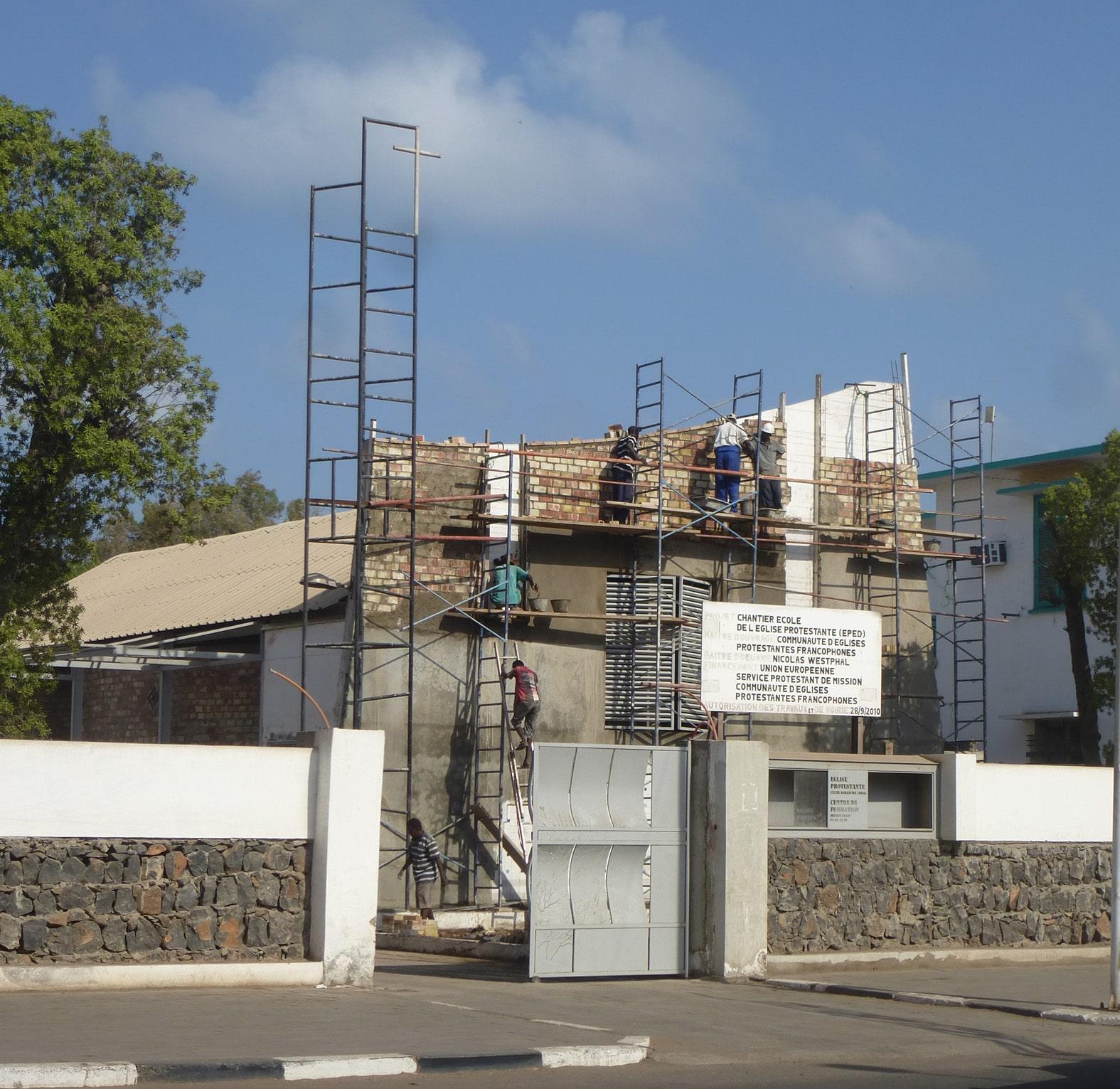 Le chantier de Djibouti DR