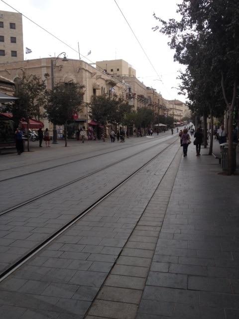 Rue Jaffa, Jérusalem DR